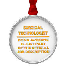 Surgical Tech Ornaments & Keepsake Ornaments | Zazzle