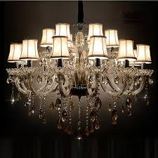 18 lights traditional luxury large crystal ceiling chandelier lamp classical glass chandelier light lighting for lobby crystal chandelier glass chandelier