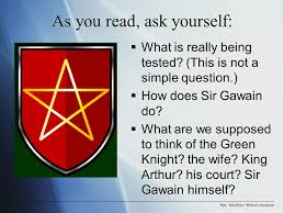 who is this green knight that challenges sir gawain at king  5 mrs