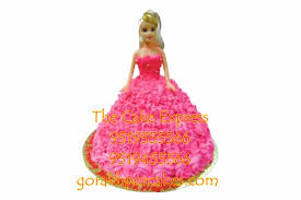 Cute Barbie Cake 15 Kg Delivery Gorakhpur Online Cartoon Cakes