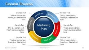 Sample Marketing Plan Powerpoint Blue Marketing Plan Template For Powerpoint Slidemodel