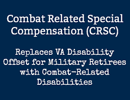 Combat Related Special Compensation Crsc Benefits