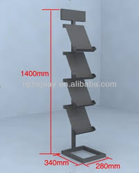Single Book Display Stand 100 Tiers Art Exhibition Display Stand Single Book Display Stand 6
