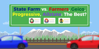 State Farm Quote Car New State Farm Vs Farmers Geico Progressive Allstate The Best