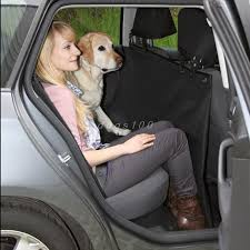 pet dog car seat cover for rear bench seat waterproof hammock style outdoor car seat cover