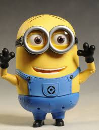 deable me minion dave talking figure by thinkway