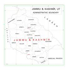 Maps Of Uts Of Jk Ladakh Released Map Of India Depicting