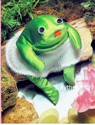 Pdf Digital Download Vintage Chart Sewing Pattern Soft Sculpture Frog In Tutu Approx 14