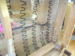 sagging couch repair upholstery tip how to fix a broken spring studio sagging couch spring repair sagging couch repair