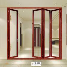high class quality dubai aluminum folding house doors