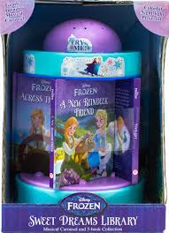 Disney Book Light Disney Frozen Sweet Dreams Library Musical Carousel And 5