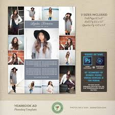 Yearbook Ad Template For Photographers Photoshop Templates Y15a