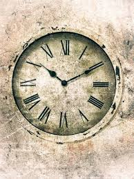 vintage style clock.  Style Rusty Clock With Roman Numerals Textured In A Vintage Style With Stock  Photo Picture And Royalty Free Image Image 65085096