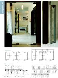 floor hinged glass door dorma brand