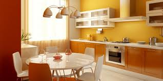 Yellow And Orange Kitchen  Kitchen Ideas  Pinterest  Orange Kitchen Interior Colors