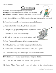 Punctuation Worksheet | Have Fun Teaching