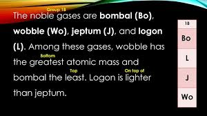 Alien Periodic Table. - ppt video online download