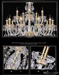 Großhandel Licht Kronleuchter Moderne Kristall Große Kronleuchter Luxus Moderne Kronleuchter Beleuchtung Mode Luxus Gold Transparent K9 Kristall Von