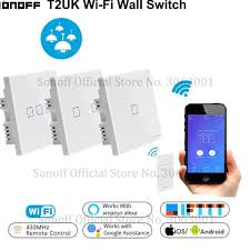 Best Offers for <b>wifi</b> 2 gang switch <b>wall</b> light touch panel smart list and ...