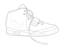 Air Jordan 1 Drawing At Getdrawingscom Free For Personal Use Air