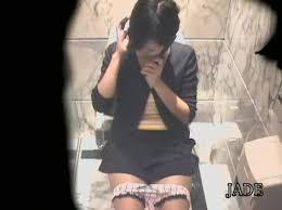 Japanese girl caught masturbating in closet