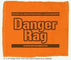 Danger Rag Orange