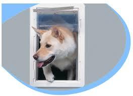 RUFF WEATHER Pet Door - Super-Large - Wall Mount