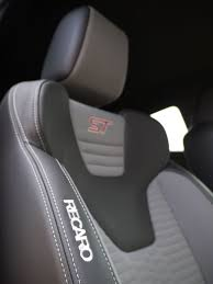 ford fiesta st 2015 long term test review by car magazine recaro sports seats grip you hard in ford fiesta st