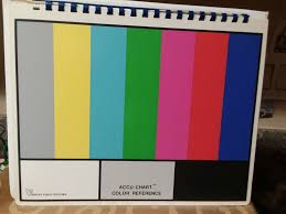 Accu Chart Color Bw Qc Yer Cameras Or A Sony 8020 Monitor
