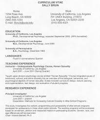 18 Example Curriculum Vitae For Students Vereador Jamerson