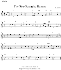 Read on to find out your new number one violin song! Sheet Music Violin The Star Spangled Banner Free Easy Violin Sheet Music Notes Violin Sheet Music Sheet Music Notes Sheet Music