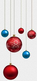 Red and blue baubles, <b>Santa Claus Christmas</b> ornament , Red and ...