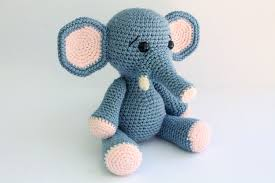 Crochet Stuffed Elephant Pattern Simple Decorating Ideas