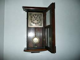 pendulum wall clocks wooden for in india antique ping