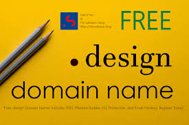 Design Domain Free Free Design Domain Name For One Year Incl Free Ssl Whois
