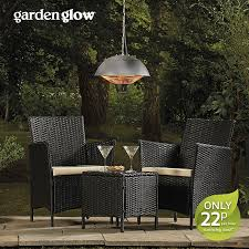 image to enlarge garden glow 1500w ceiling mounted patio heater