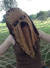 chewbacca costume mask ski mask by taylorfour on more