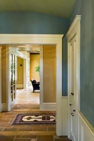 room blue hall greene benjamin moores  dartsmouth green their spelling and for the hall and