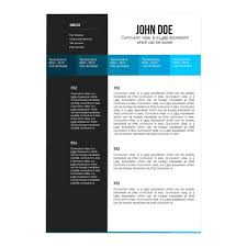 Gallery Of Resume Template For Mac
