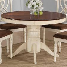 how to make a round pedestal kitchen table modern decorating