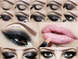 maquiagens po a po olho escuro