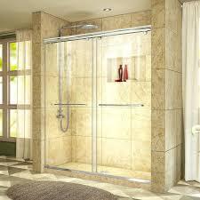 semi frameless shower door charisma x bypass with technology installation cost