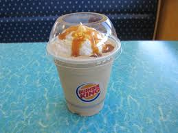 Made with 100 percent arabica beans combined with silky cream and your choice of flavored vanilla syrup. Review Burger King Caramel Frappe Brand Eating