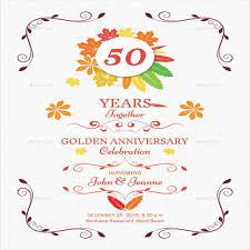 anniversary invitation templates 28 free psd vector eps ai with regard to