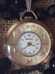 lucerne swiss made necklace watch