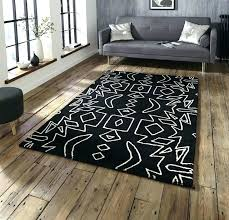black and white aztec rug black and white tribal rug black white rugs black and white