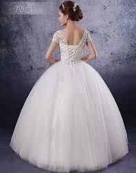 unique princess wedding dress with corset back sang maestro