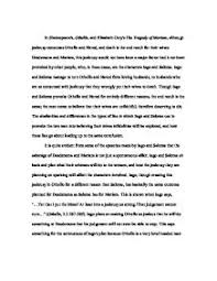comparing the use of jealousy in shakespeare s othello and page 1 zoom in