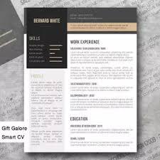 Simplexing Modern Resume Template
