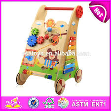 hot wooden baby walker trailer on push best